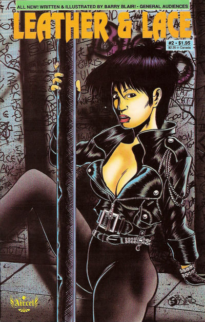 Cover for Leather &amp; Lace (1989 series) #2 [Adult Only]