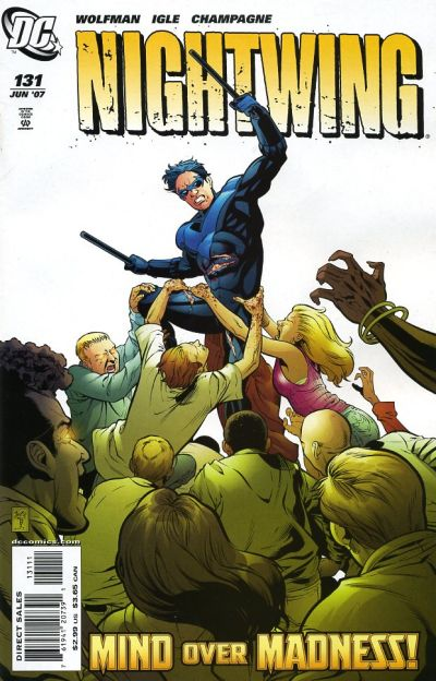 Cover for Nightwing (DC, 1996 series) #131