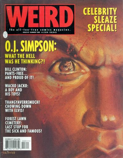 Cover for Weird (1997 series) #3