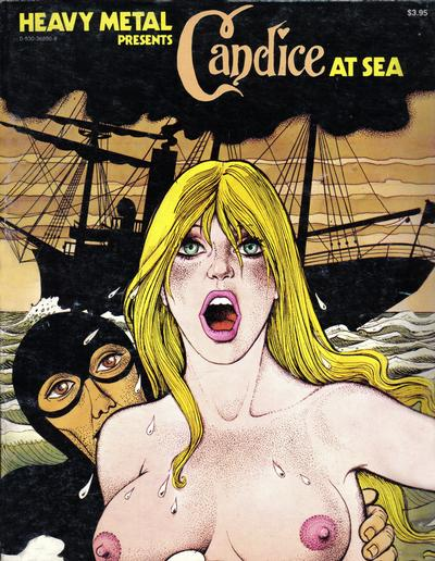 Cover for Candice at Sea (1977 series) #[nn]