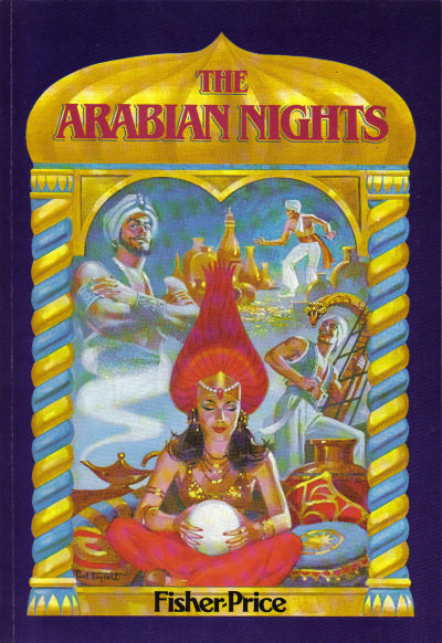 "Cover for ""Marvel Classics Comics"" featuring The Arabian Nights (Marvel, 1984 series) #[nn]"