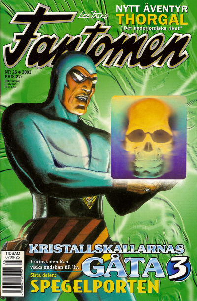 Cover for Fantomen (Egmont, 1997 series) #25/2003
