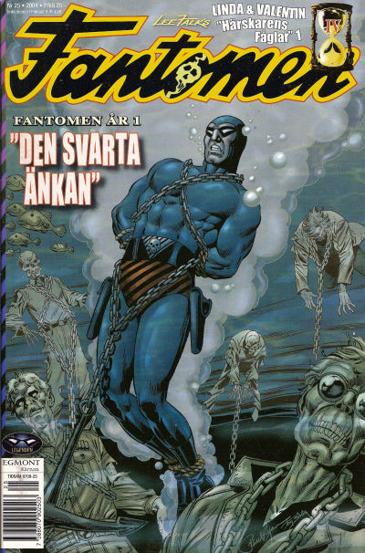 Cover for Fantomen (1997 series) #25/2004