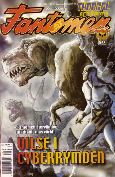 Cover for Fantomen (Egmont, 1997 series) #24/2006