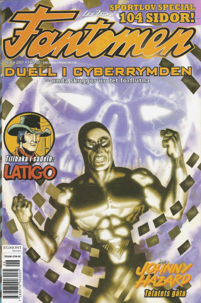 Cover for Fantomen (Egmont, 1997 series) #6/2007