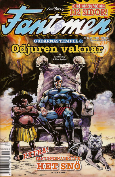 Cover for Fantomen (1997 series) #10-11/2007