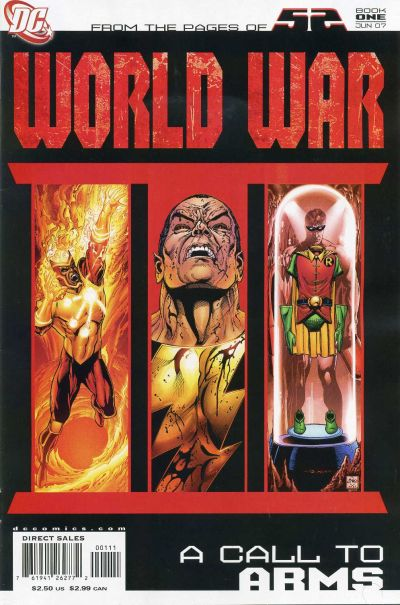 Cover for 52 / World War III Part One: A Call to Arms (DC, 2007 series) #[nn]