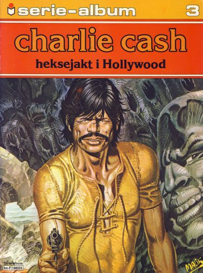 Cover for Serie-album (1982 series) #3 - Charlie Cash - Heksejakt i Hollywood
