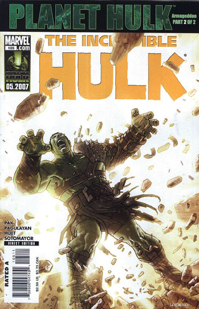 Cover for Incredible Hulk (Marvel, 2000 series) #105
