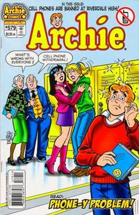 Cover Thumbnail for Archie (Archie, 1962 series) #579