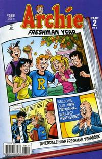Cover for Archie (Archie, 1959 series) #588