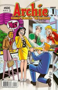 Cover Thumbnail for Archie (Archie, 1959 series) #600