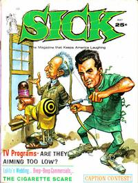 Cover Thumbnail for Sick (Prize, 1960 series) #28