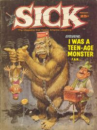 Cover Thumbnail for Sick (Prize, 1960 series) #34