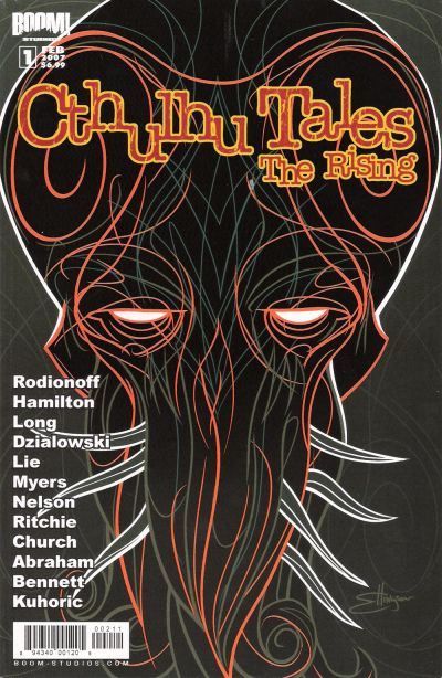 Cover for Cthulhu Tales: The Rising (Boom! Studios, 2007 series) #1