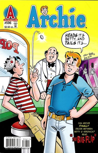 Cover for Archie (Archie, 1959 series) #596