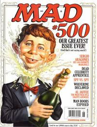 Cover Thumbnail for MAD (EC, 1952 series) #500