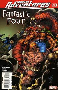Cover Thumbnail for Marvel Adventures Fantastic Four (Marvel, 2005 series) #21