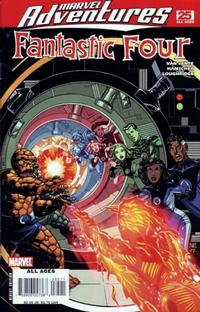 Cover Thumbnail for Marvel Adventures Fantastic Four (Marvel, 2005 series) #25