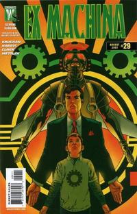 Cover Thumbnail for Ex Machina (DC, 2004 series) #29