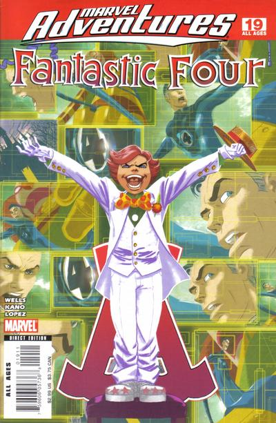 Cover for Marvel Adventures Fantastic Four (2005 series) #19