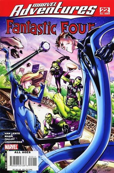 Cover for Marvel Adventures Fantastic Four (Marvel, 2005 series) #22