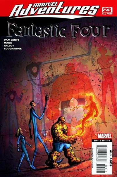 Cover for Marvel Adventures Fantastic Four (2005 series) #23