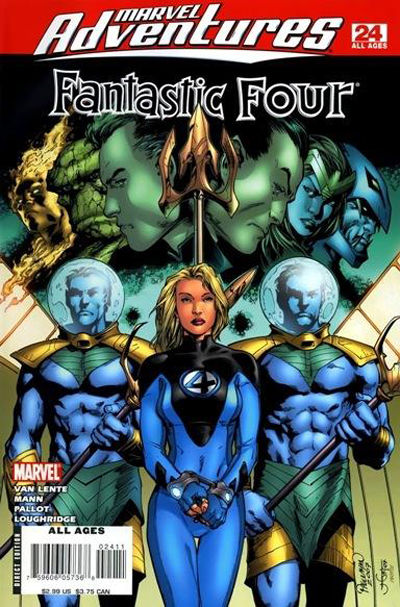 Cover for Marvel Adventures Fantastic Four (Marvel, 2005 series) #24