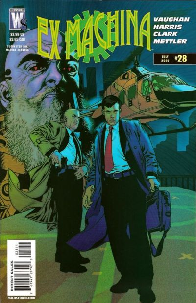 Cover for Ex Machina (DC, 2004 series) #28