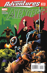 Cover Thumbnail for Marvel Adventures The Avengers (Marvel, 2006 series) #10