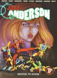 Cover Thumbnail for Judge Anderson: Anderson, Psi-Division (DC, 2005 series) #1