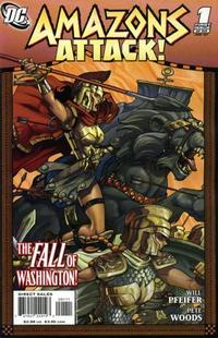 Cover Thumbnail for Amazons Attack (DC, 2007 series) #1