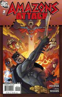 Cover Thumbnail for Amazons Attack (DC, 2007 series) #2