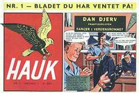 Cover Thumbnail for Hauk (Se-Bladene, 1955 series) #1/1955