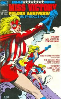 Cover Thumbnail for Miss Victory Golden Anniversary Special (AC, 1991 series)