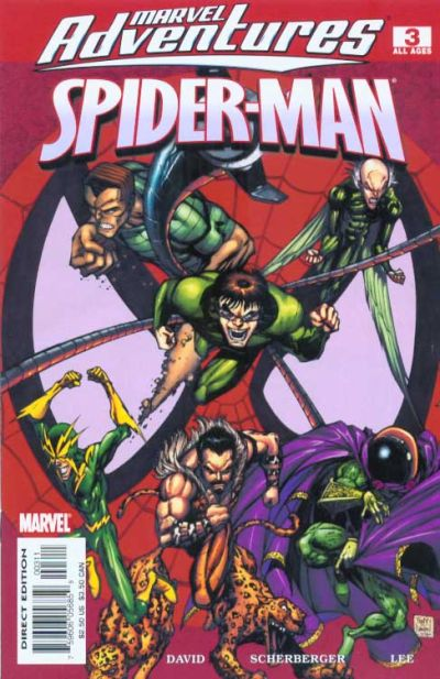 Cover for Marvel Adventures Spider-Man (Marvel, 2005 series) #3