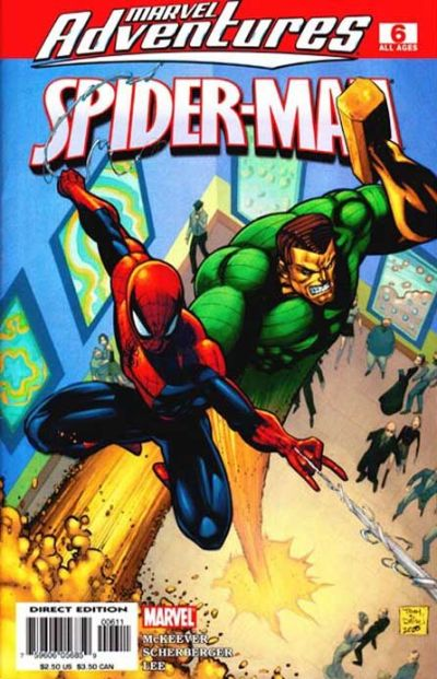 Cover for Marvel Adventures Spider-Man (2005 series) #6 [Food Lion Giveaway]