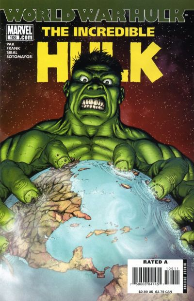 Cover for Incredible Hulk (Marvel, 2000 series) #106 [Second Printing]