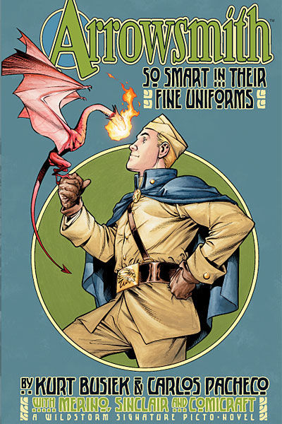 Cover for Arrowsmith: So Smart in Their Fine Uniforms (DC, 2004 series)