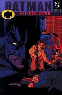 Cover Thumbnail for Batman: Officer Down (DC, 2001 series) #2