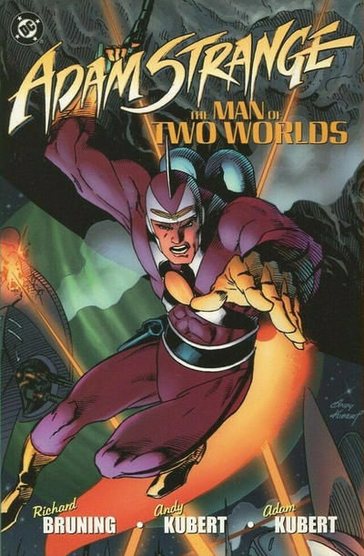 Cover for Adam Strange: The Man of Two Worlds (DC, 2003 series)