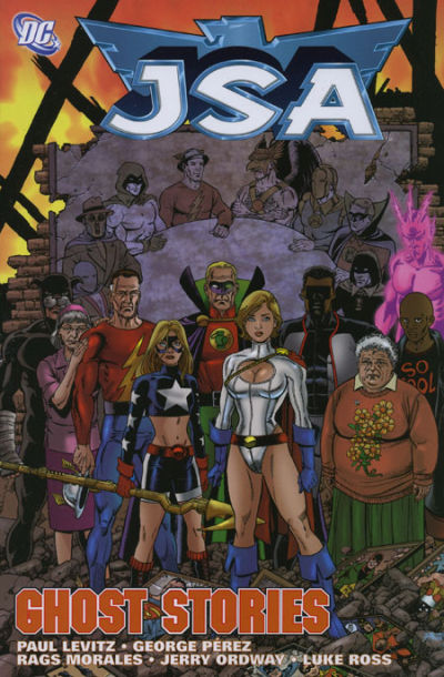 Cover for JSA (DC, 2000 series) #12 - Ghost Stories
