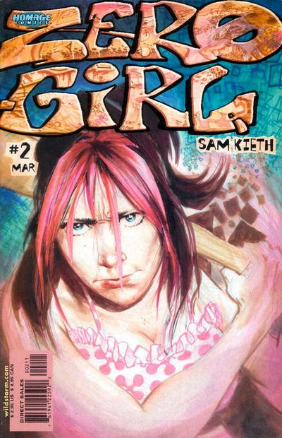 Cover for Zero Girl (DC, 2001 series) #2