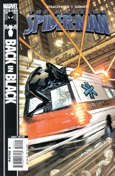 Cover for The Amazing Spider-Man (Marvel, 1999 series) #540 [Direct Edition]