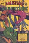 Cover for Amazing Adventure Funnies (Centaur, 1940 series) #1