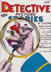 Cover Thumbnail for Detective Picture Stories (Comics Magazine Company, 1936 series) #4