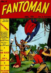 Cover Thumbnail for Fantoman (Centaur, 1940 series) #4