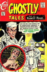 Cover Thumbnail for Ghostly Tales (Charlton, 1966 series) #67