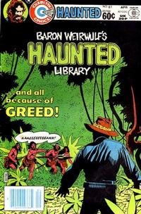 Cover for Haunted (Charlton, 1971 series) #61