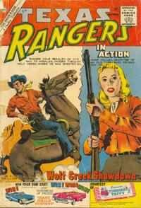 Cover for Texas Rangers in Action (Charlton, 1956 series) #24